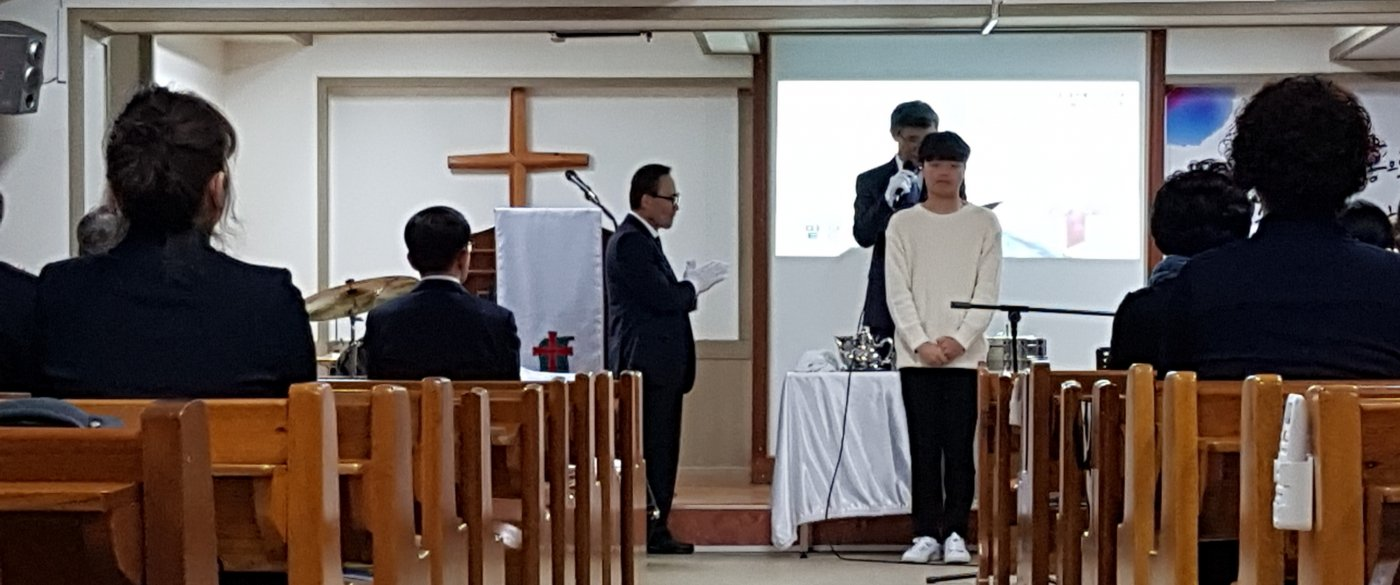 류승규군의 세례식 사진 올립니다